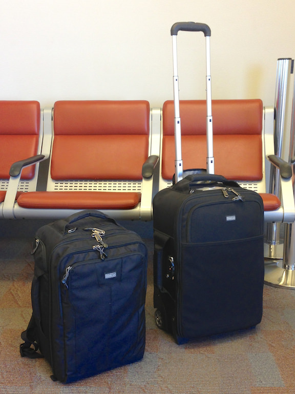 Airport International Roller and Commuter Backpack