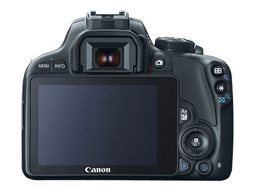 Canon 100D Rebel SL1 Rear