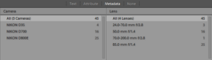 Image Management in Lightroom