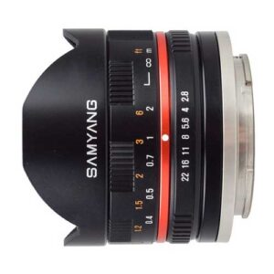 Samyang 8mm f/2.8 UMC Fisheye