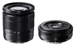 Fuji 27mm f/2.8 and 16-50mm f/3.5-5.6 OIS Lens Announcements