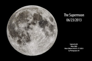 Photographing the Supermoon