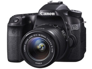 Canon EOS 70D DSLR Announcement