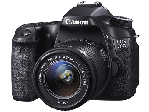 Canon EOS 70D Front Side