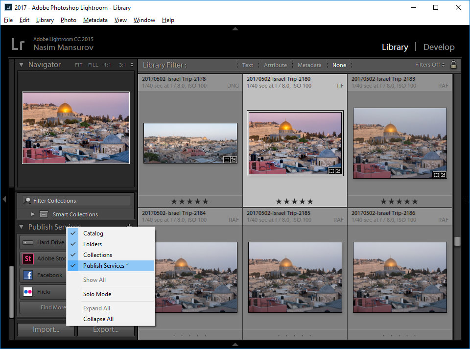 Lightroom Remove Sub-Module