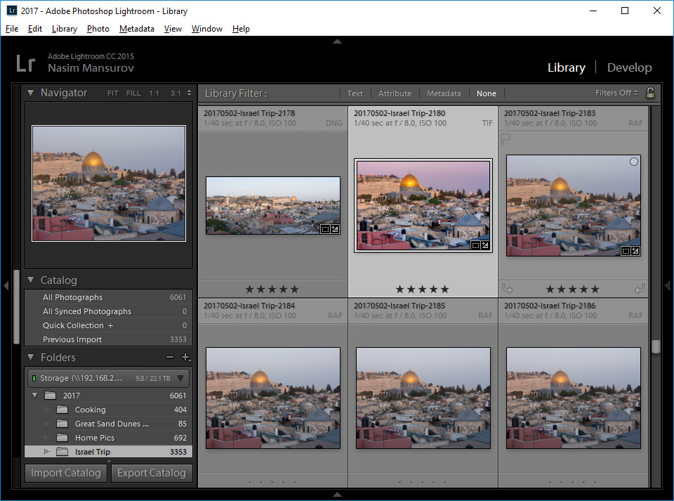 Lightroom Removed Modules