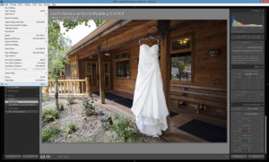 Lightroom Exit Checkmark