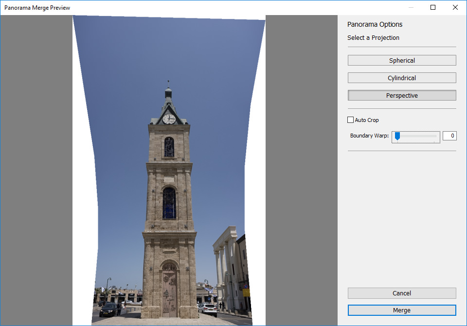 Lightroom Perspective Projection Working