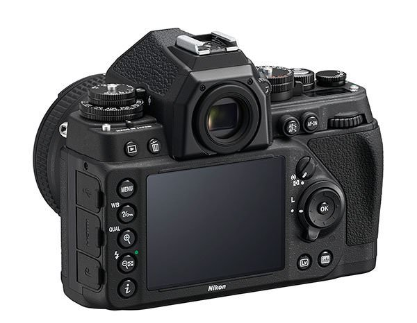 Nikon DF Rear_black