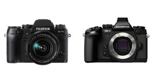 High-End Mirrorless Camera Comparison