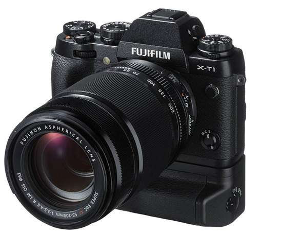 Fujifilm X-T1 with Battery Grip