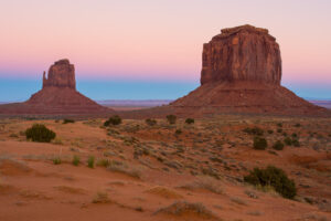 Monument Valley Dusk