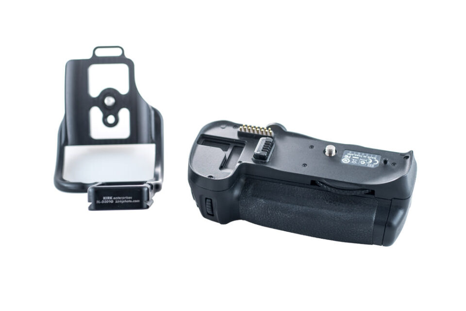 Nikon D700 L Bracket and MB-D10