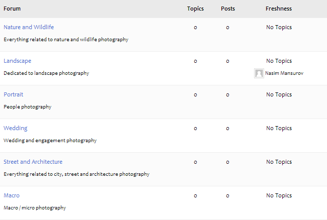 Photography Life Forums