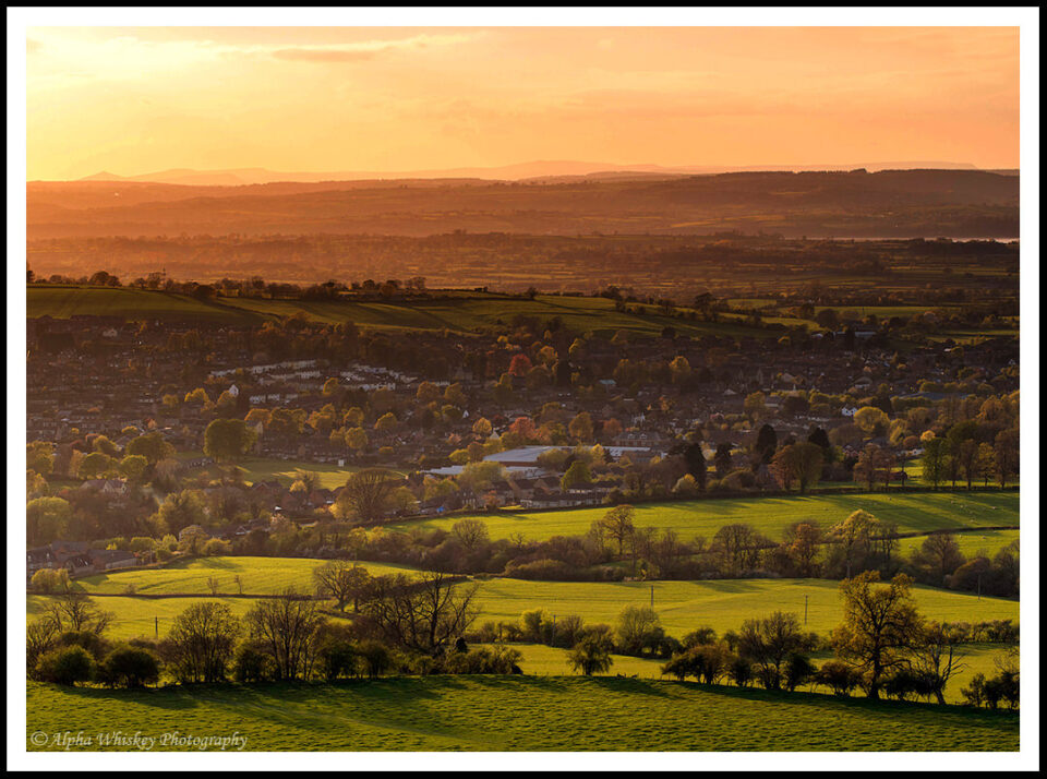 Olympus 60mm F/2.8, ISO 200. View from Cam Peak, Gloucestershire.