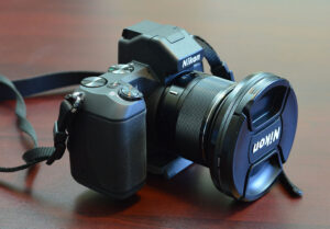 Nikon 1 V2 with Polarizing Filter