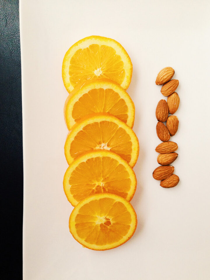 Orange and Almonds