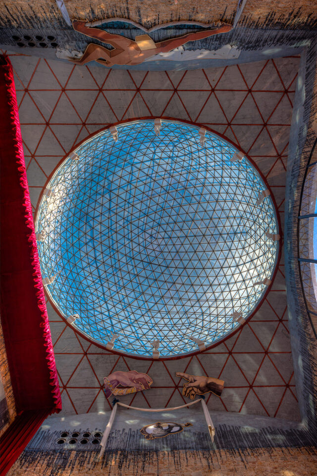 Figueres Dome of the Museum Salvador Dali