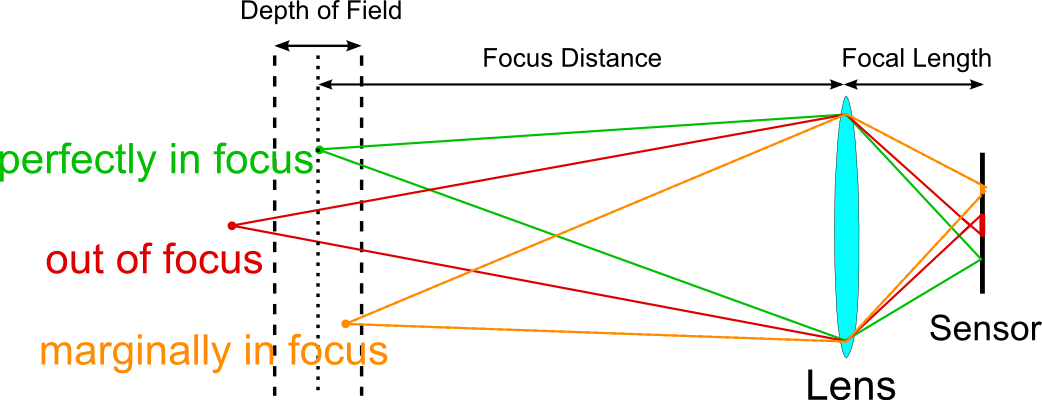 Sensor Size, Perspective and Depth of Field