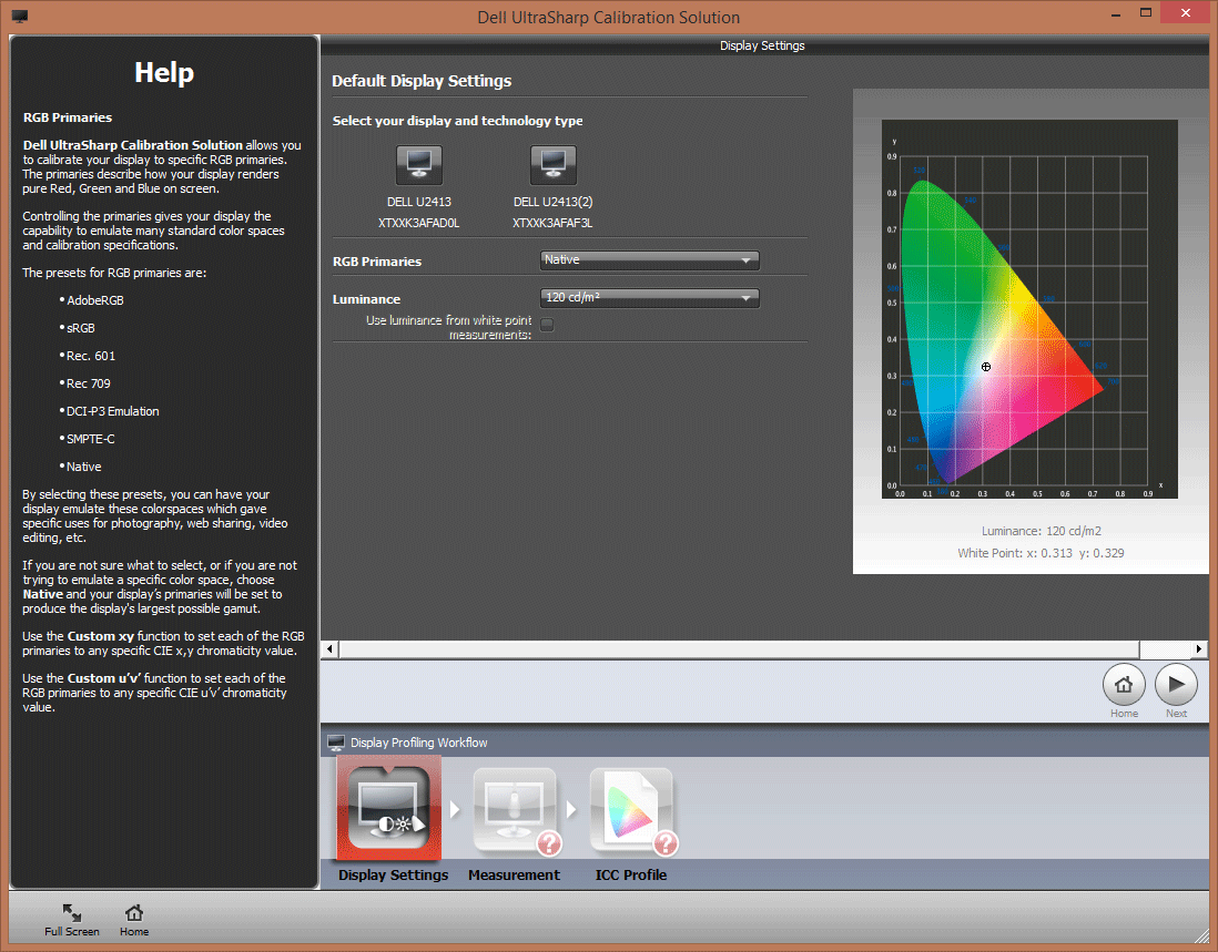 How is the monitor calibrated? 10