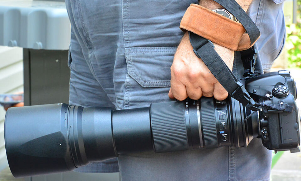Tamron SP 150-600mm Handle