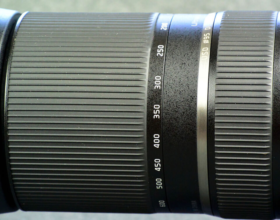 Tamron 150-600mm Zoom and Focus Rings