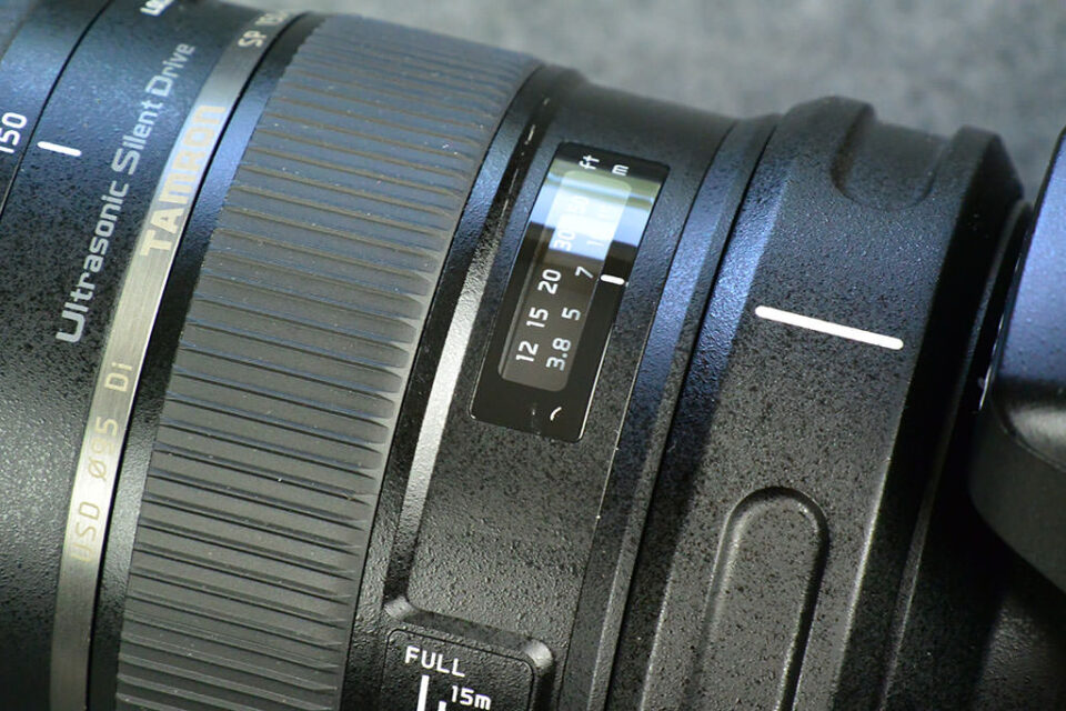 Tamron 150-600mm Scale
