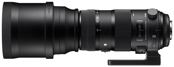 Sigma 150-600mm f5-6.3 OS DG HSM S Lens with Hood