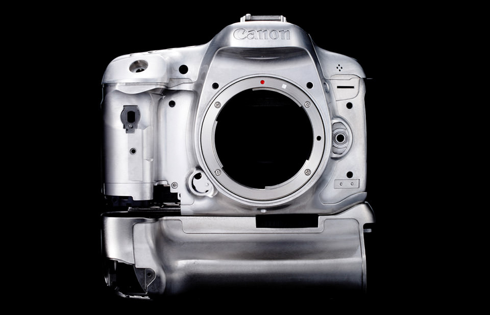 Canon 7D Mark II Magnesium Alloy Construction