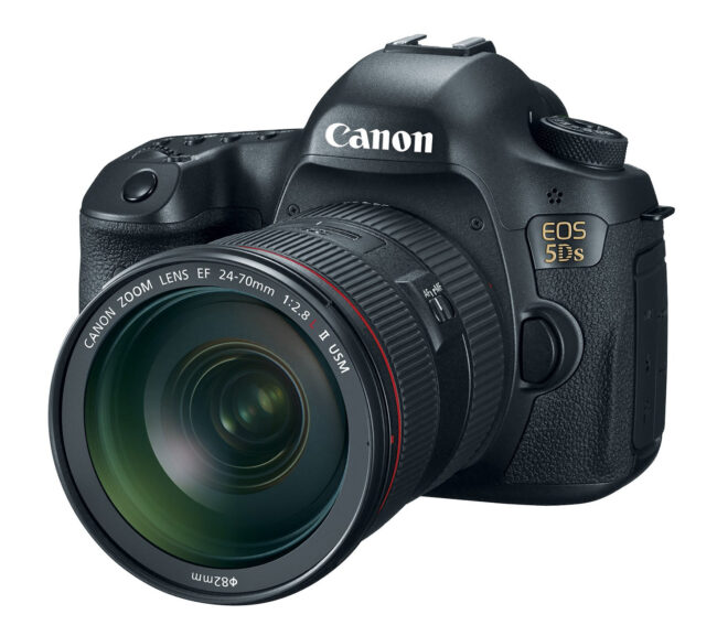 Canon EOS 5DS Side View