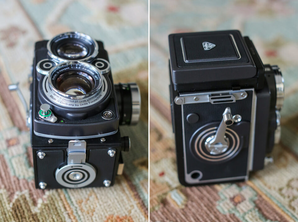 2 Rolleiflex 2.8 FX Camera Review