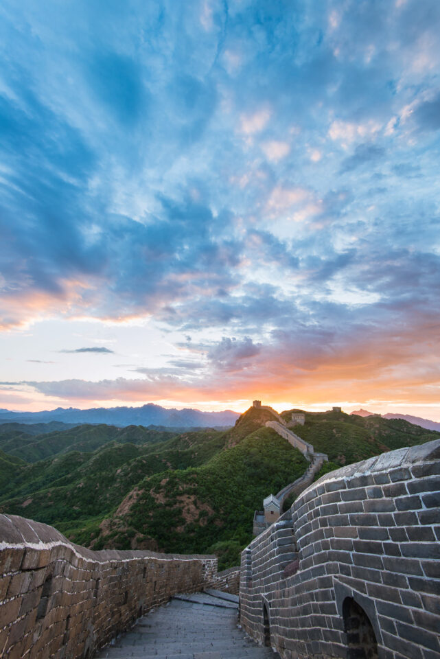 8-Great Wall Sunset