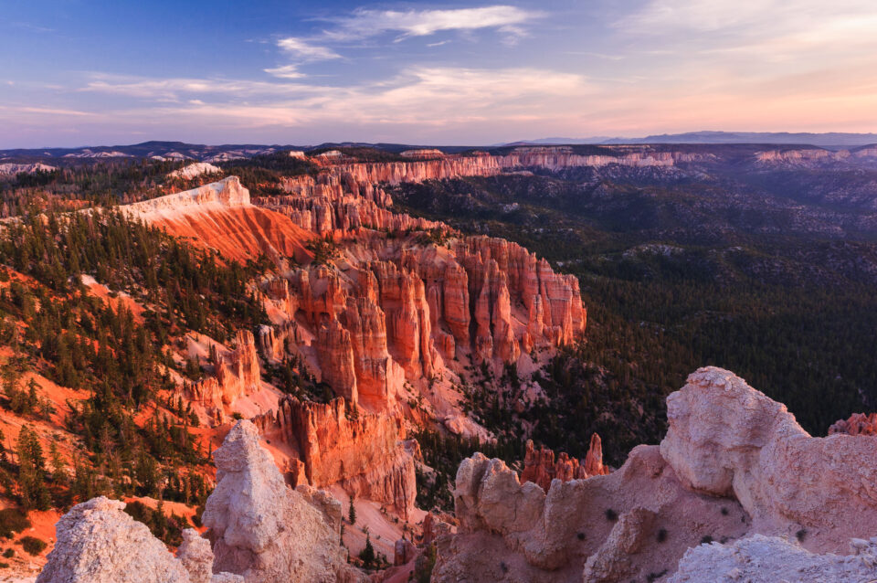 9-Bryce Rainbow Point Sunrise