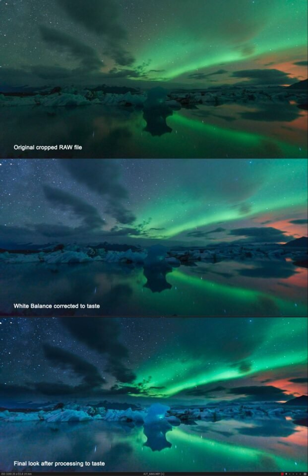 Photographing Northern Lights (2)