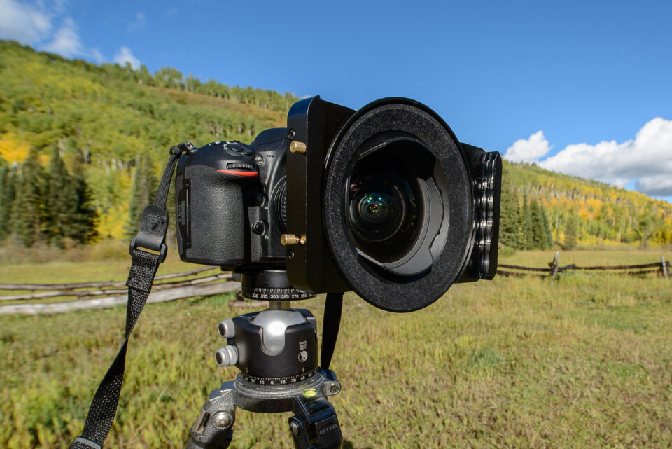 Really Right Stuff BH-55 with Nikon D810 and 14-24mm