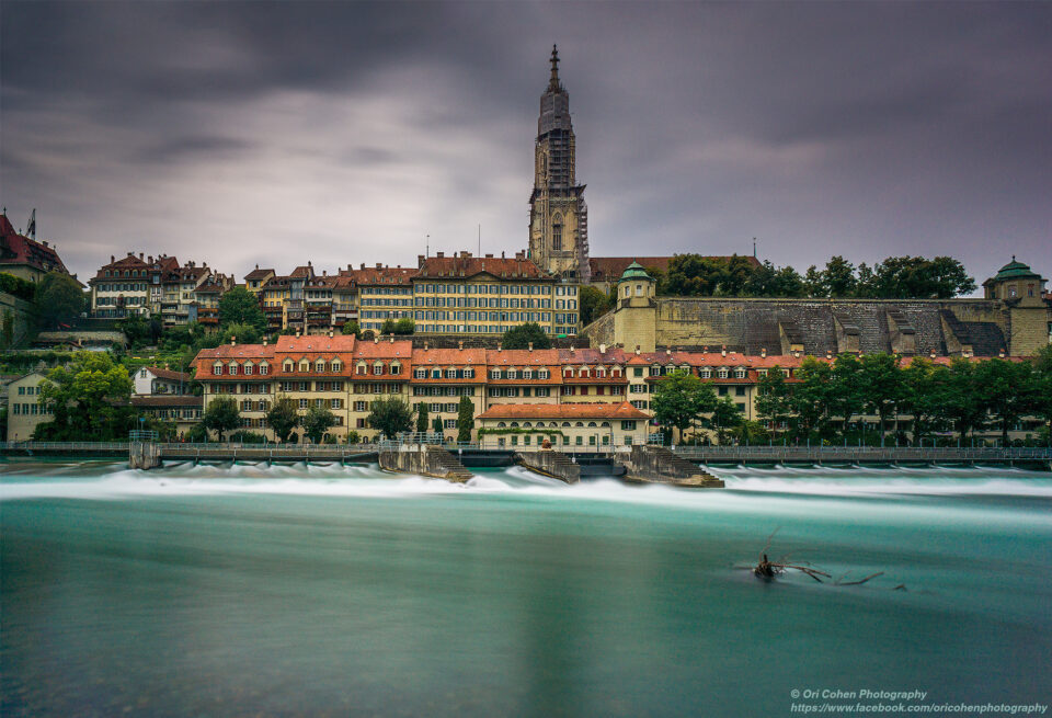 Bern's river-side