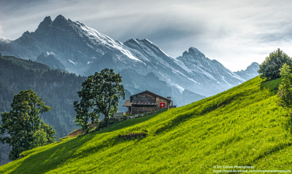 Gimmelwald Alps