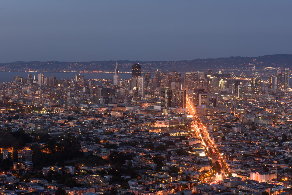 Twin Peaks After Sunset