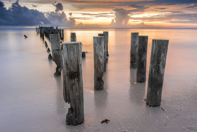 Old Naples Pier Pilings