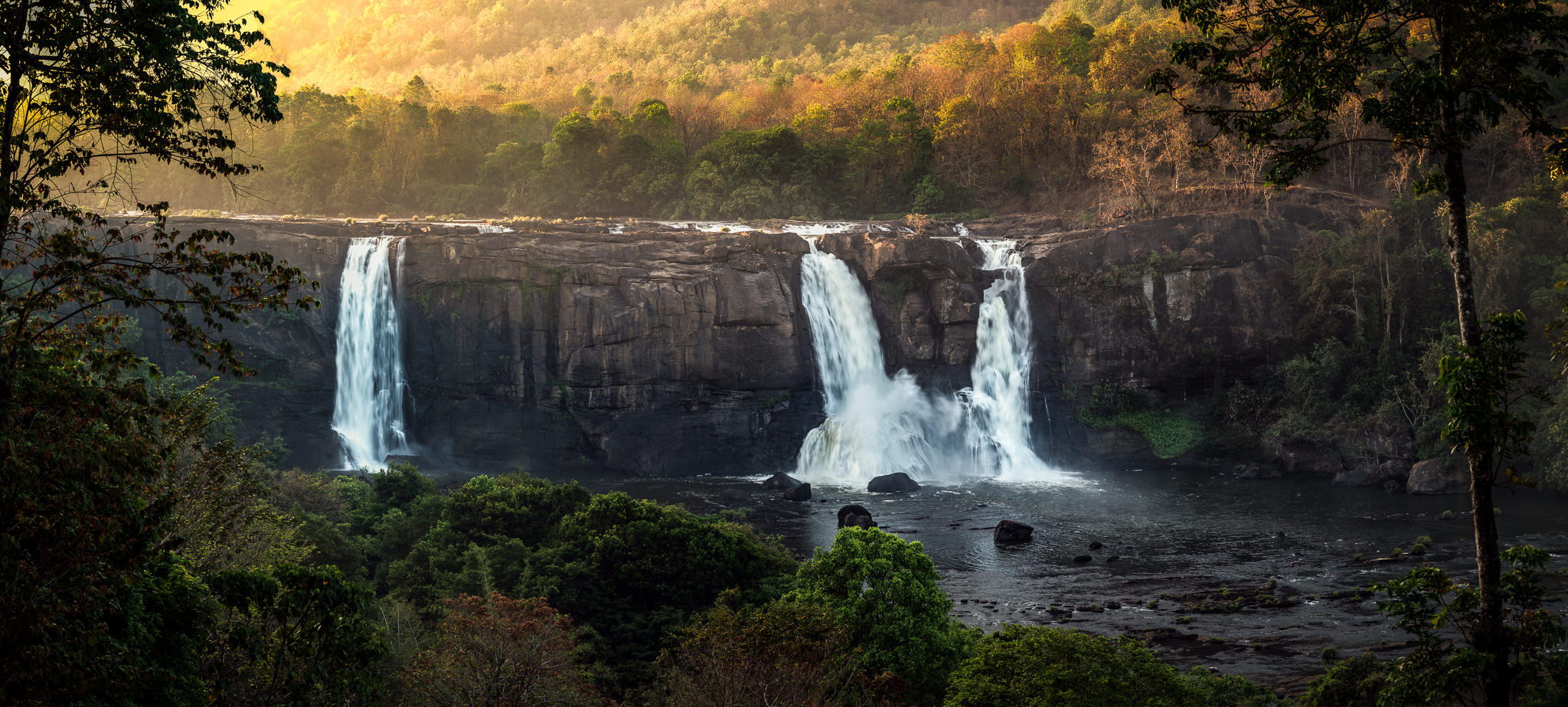Image result for Athirapally Falls