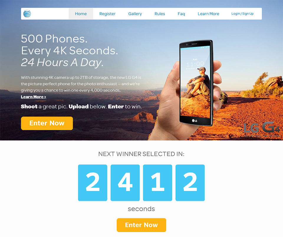 AT&T 4K Sweepstakes