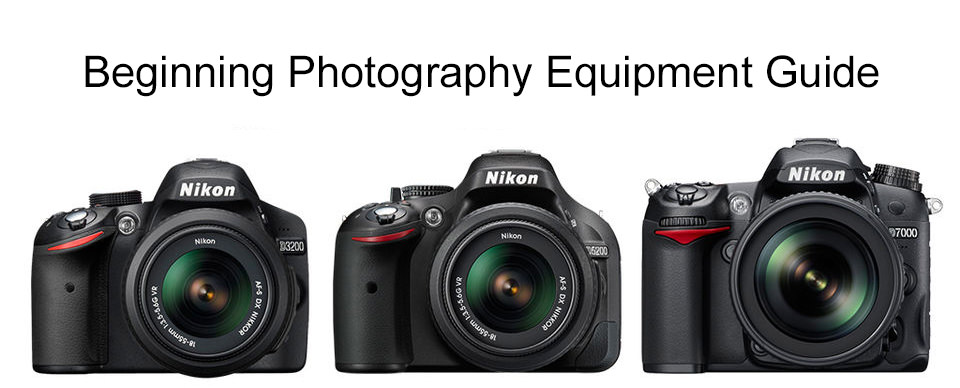 Beginning Photography Equipment