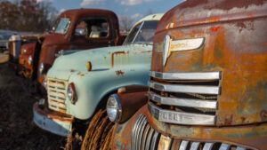 Antique Truck Graveyard #1