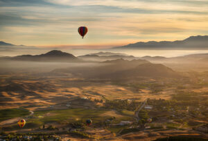 Temecula By Hot-Air Balloon