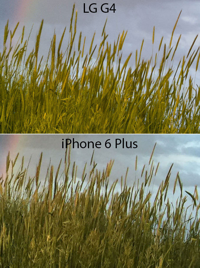LG G4 vs iPhone 6 Plus Details