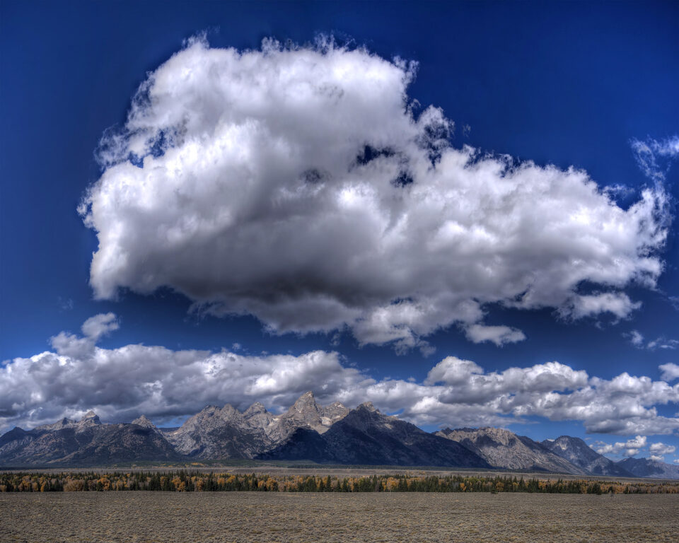 17 Clouds with Tetons