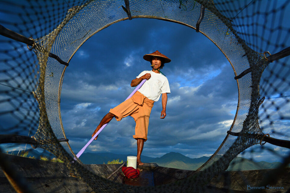 8. Bennett-Stevens - Portraits of Myanmar Fisherman