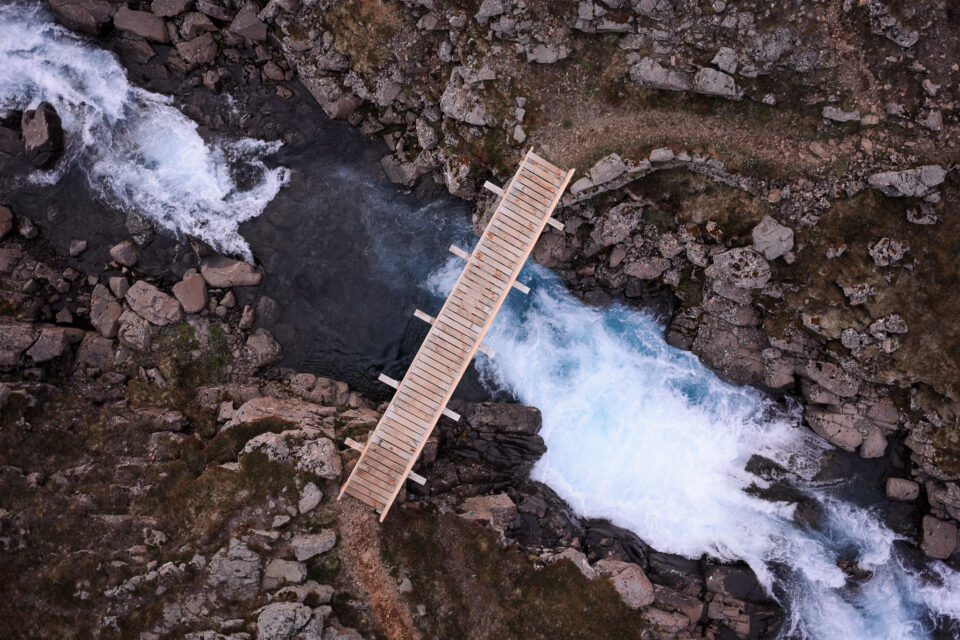 Bridge from a Drone