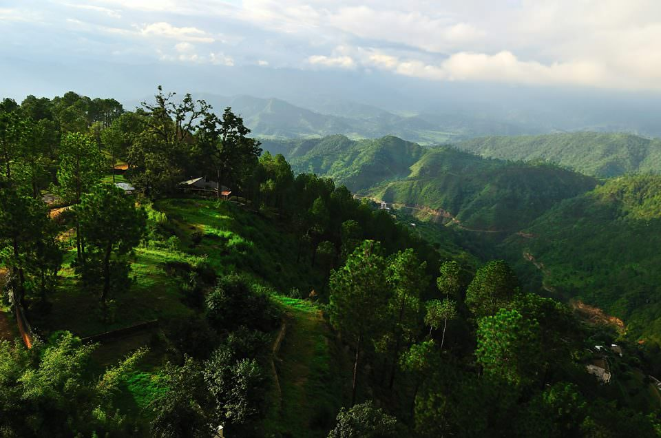 Ranikhet-Valley