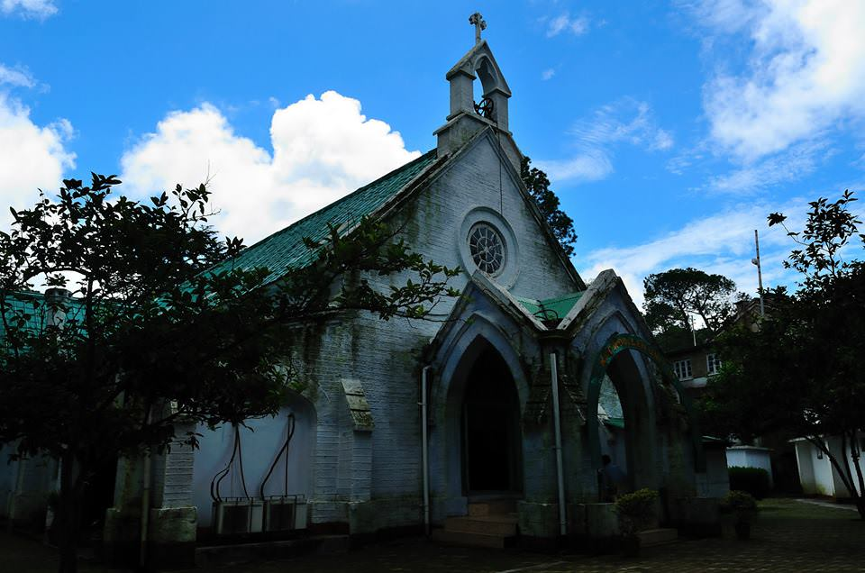 Ranikhet-church